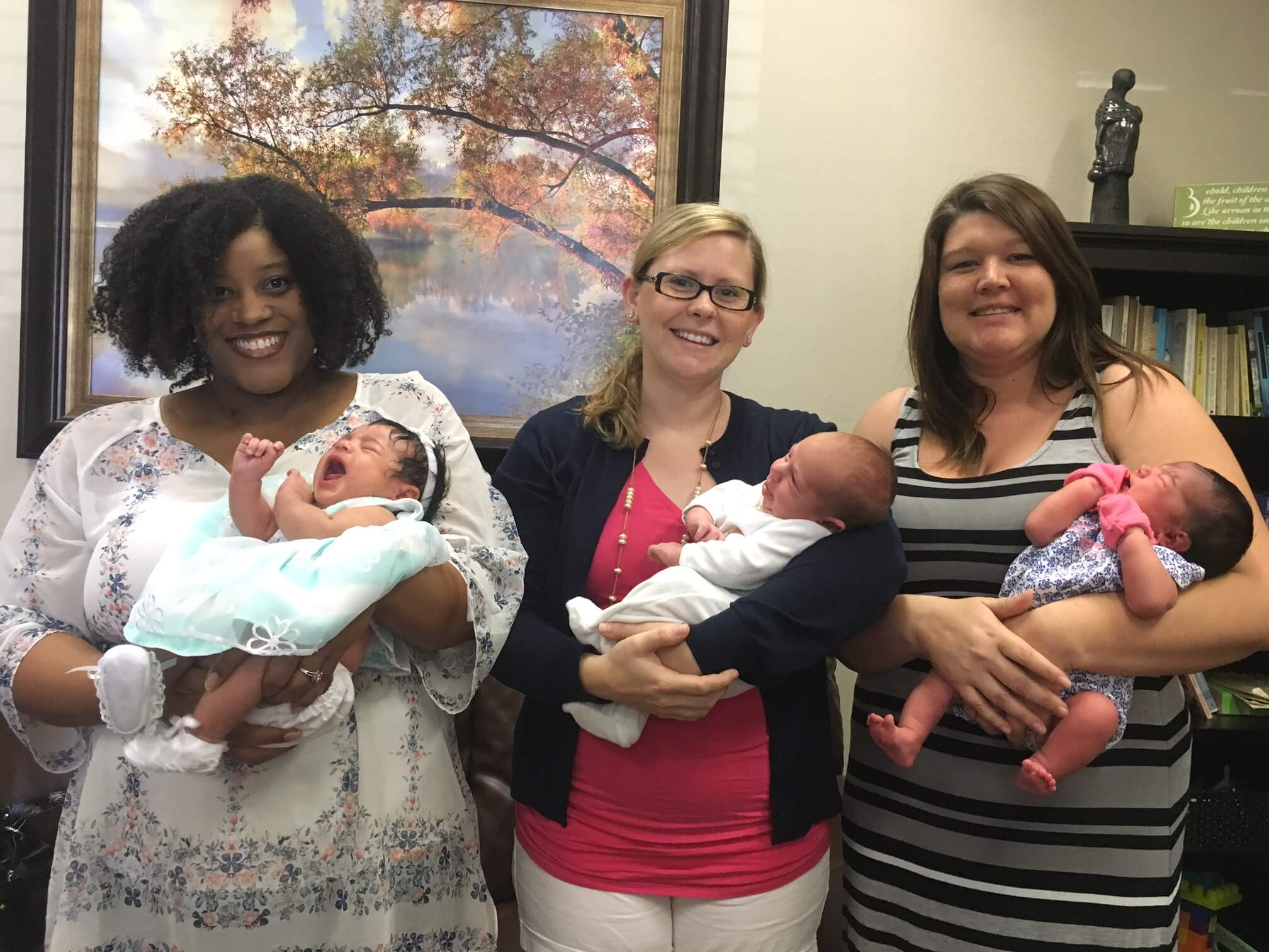 babies born at Birth Center Stone Oak